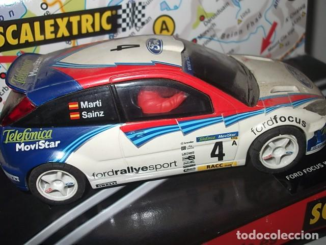 Scalextric: SACLEXTRIC FORD FOCUS EN CAJA BARATO VER DESCRIPCION - Foto 4 - 62206816