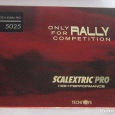 Scalextric: COCHE SCALEXTRIC PRO, TECNITOYS, CITROEN XSARA PRO, REF 5025, EN CAJA. CC. Lote 62493444