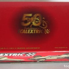 Scalextric: COCHE SCALEXTRIC 50 ANIVERSARIO, TECNITOYS, SHARKNOSE 156 F1 1961 Y MANDO, EN CAJA. CC. Lote 62496392