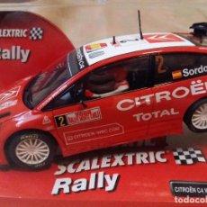 Scalextric: CITROEN C4 WRC -SORDO- DE SCALEXTRIC. Lote 84838123