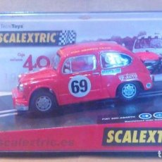 Scalextric: SEAT/FIAT 600/1000 ABARTH 40 ANIVERSARIO EXIN TRIANG SCALEXTRIC SCX SRC REPROTEC. Lote 84763092