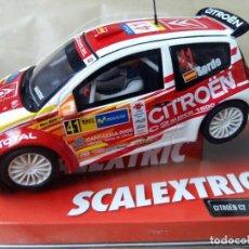 Scalextric: CITROEN C2 JWRC -SORDO- DE SCALEXTRIC. Lote 64173551