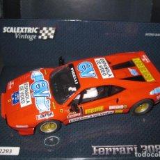 Scalextric: A10215S300 - FERRARI 308 GTB DE ZANINI EDICION ESPECIAL VINTAGE DE SCALEXTRIC. Lote 182611697