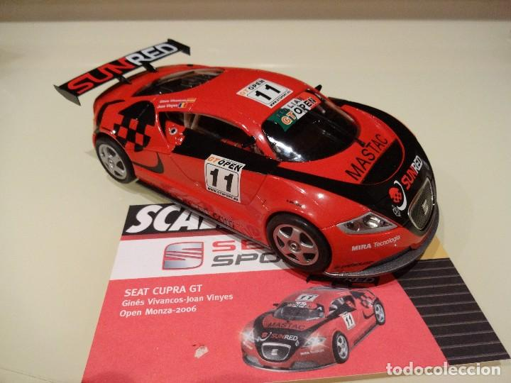 SCALEXTRIC. ALTAYA. SEAT CUPRA GT. VIVANCOS/VINYES. COLECCIÓN SEAT SPORT. (Juguetes - Slot Cars - Scalextric Tecnitoys)