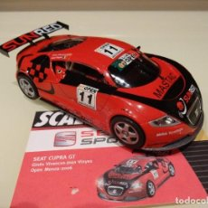 Scalextric: SCALEXTRIC. ALTAYA. SEAT CUPRA GT. VIVANCOS/VINYES. COLECCIÓN SEAT SPORT.. Lote 195468756