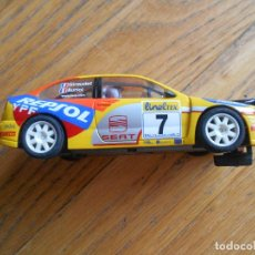 Scalextric: SCALEXTRIC TECNITOYS, SEAT CORDOBA WRC LEER. Lote 65992410