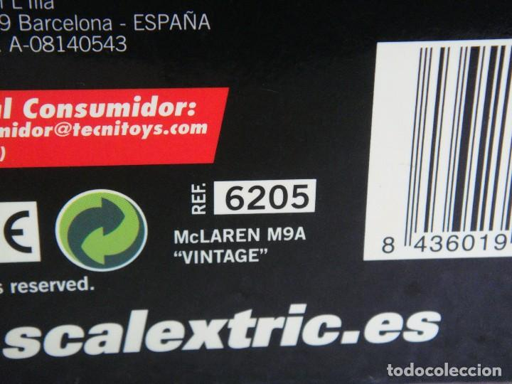 Scalextric: SCALEXTRIC MC LAREN M9A VINTAGE REF. 6205 - Foto 3 - 67094029