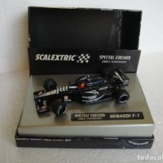 Scalextric: SCALEXTRIC MINARDI F1 ALONSO SPECIAL EDITION 2001 REF. 6194. Lote 67094321