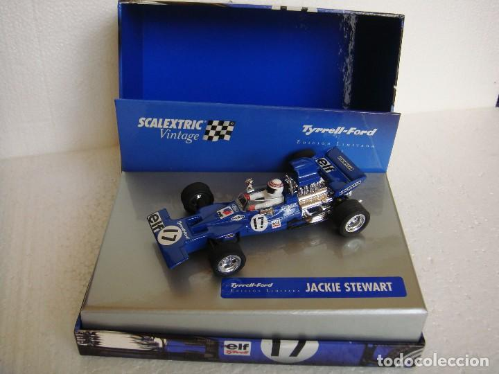 SCALEXTRIC TYRELL F1 VINTAGE REF. 6178 (Juguetes - Slot Cars - Scalextric Tecnitoys)