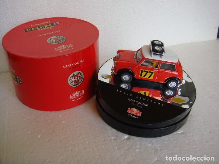 SCALEXTRIC MINI COOPER 1275 S MONTECARLO WINNER REF. 6073 (Juguetes - Slot Cars - Scalextric Tecnitoys)