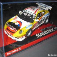 Scalextric: A10219S300- PORSCHE 911 GT3 RALLY DUEZ DE SCALEXTRIC. Lote 128683959