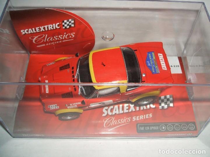 FIAT 124 SPYDER III RALLY COSTA BRAVA . EDICION LIMITADA (Juguetes - Slot Cars - Scalextric Tecnitoys)