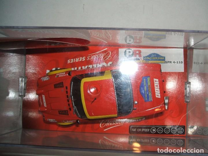 Scalextric: FIAT 124 SPYDER III RALLY COSTA BRAVA . EDICION LIMITADA - Foto 2 - 70509881