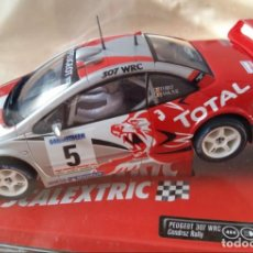 Scalextric: PEUGEOT 307 WRC -TOTAL- DE SCALEXTRIC. Lote 71646811