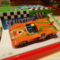 Scalextric: SCALEXTRIC. SUPER VINTAGE. RENAULT ALPINE TURBO BANCO OCCIDENTAL. REF.6491. Lote 144155397