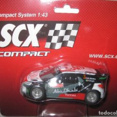 Scalextric: C10231X300 - CITROEN DS3 WRC RALLY PORTUGAL DE SCALEXTRIC COMPACT. Lote 74665751