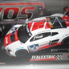 Scalextric: W10225S300 - AUDI R8 LMS 24H NBR DE SCALEXTRIC WOS. Lote 206551648