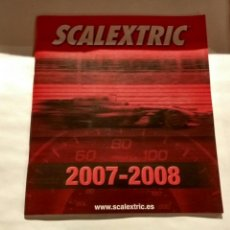 Scalextric: FOLLETO SCALEXTRIC 2007-2008. Lote 75001895