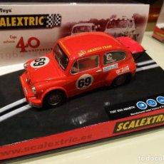 Scalextric: SCALEXTRIC. FIAT ABARTH ROJO. 40 ANIVERSARIO. Lote 176185463