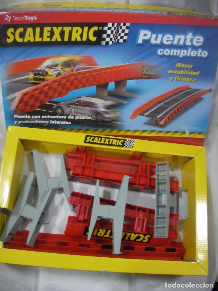 PUENTE COMPLETO SCALEXTRIC (Juguetes - Slot Cars - Scalextric Tecnitoys)