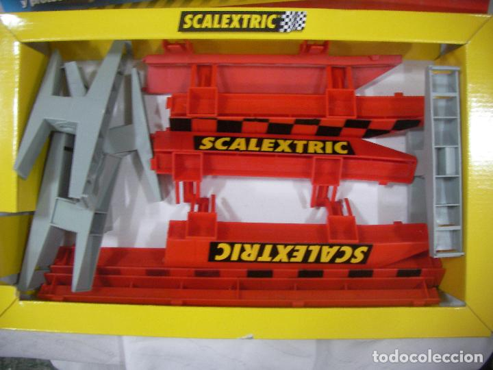 Scalextric: PUENTE COMPLETO SCALEXTRIC - Foto 2 - 77627505