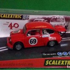 Scalextric: FIAT 600 ABARTH – CAJA EXCLUSIVA 40 ANIVERSARIO – SCALEXTRIC. Lote 78002021