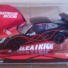 Scalextric: SCX PRO MEJORADO PORSCHE 911 GT3 CLUB´08 MOTOR RX42E 24000RPM PRO SPEED SCALEXTRIC NINCO NSR RACER. Lote 83065692