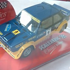 Scalextric: SEAT 131 ABARTH SCX SCALEXTRIC REF. 6297. Lote 115489731