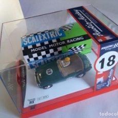 Scalextric: SCALEXTRIC VINTAGE AUSTIN HEALEY ,EDICIÓN NUMERADA .EN URNA, CON CAJA REPRO.. Lote 160341121
