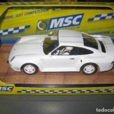Scalextric: PORSCHE 959 STREET CAR BLANCO 4X4 DE MSC. Lote 236445810