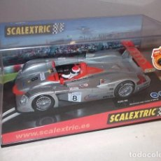 Scalextric: SCALEXTRIC. AUDI R8, CAMPEÓN LE MANS 2000. REF. 6036, NUEVO,NUNCA SACADO DE LA CAJA,BARATO. Lote 89312872