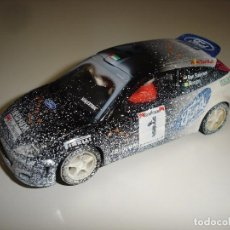 Scalextric: SCALEXTRIC TECNITOYS: FORD FOCUS WRC -- IRIDIUM, EFECTO NIEVE.. Lote 89372940