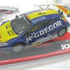 Scalextric: A10151X300- RENAULT MEGANE TROPHY DHL DE SCALEXTRIC. Lote 238585805