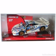 Scalextric: SLOT PORSCHE 911 GT1 LE MANS 1996 / SCALEXTRIC TECNITOYS ALTAYA / SERIE DUELOS MÍTICOS (2003). Lote 94299514