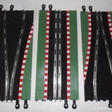 Scalextric: PISTAS SCALEXTRIC - CHICANE - 3 TRAMOS DE 35 CM. - TECNITOYS. Lote 94825291