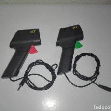 Scalextric: PAREJA DE MANDOS CON CONEXION JACK SCALEXTRIC TECNITOYS. Lote 95059187