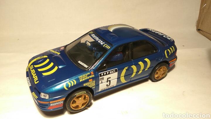 SUBARU IMPREZA WRC N°5 CARLOS SAINZ SCALEXTRIC TECNITOYS (Juguetes - Slot Cars - Scalextric Tecnitoys)