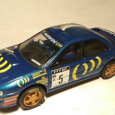 Scalextric: SUBARU IMPREZA WRC N°5 CARLOS SAINZ SCALEXTRIC TECNITOYS. Lote 119297042