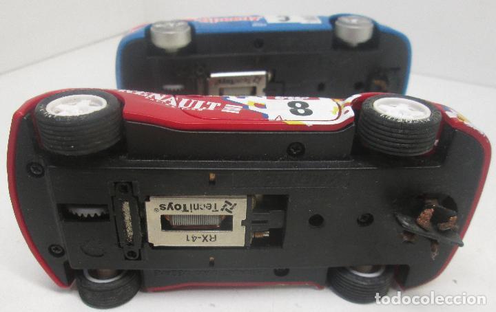 Scalextric: SCALEXTRIC TECNITOYS SEAT LEON + RENAULT MAXI MEGANE - Foto 3 - 96758779