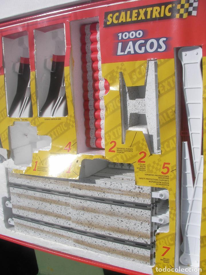Scalextric: PISTA SCALEXTRIC RALLY C 3 EFECTO NIEVE CON PISTAS NUEVAS - Foto 5 - 162508093