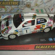Scalextric: TOYOTA COROLLA SCALEXTRIC REF.-6034. Lote 98571467