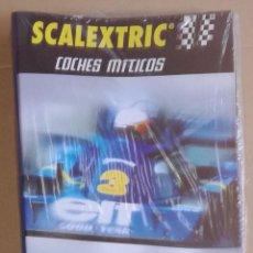 Scalextric: SCALEXTRIC COCHES MITICOS, ALTAYA: ARCHIVADOR PARA LOS FASCICULOS - PRECINTADO. Lote 100406527