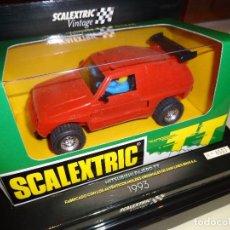 Scalextric: SCALEXTRIC. MITSUBISHI PAJERO TT. ROJO VINTAGE. REF. 6346. Lote 100416043