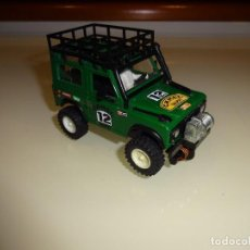 Scalextric: SCALEXTRIC. EXIN. STS. LAND ROVER VERDE. Lote 100654023