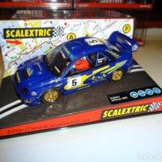 Scalextric: SCALEXTRIC. SUBARU IMPREZA WRC. COSTA BRAVA 2001. REF. 6079. Lote 100654115