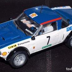 Scalextric: FIAT 124 ABARTH RALLY EL CORTE INGLES 1979 ALTAYA NUEVO. Lote 102279035