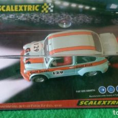 Scalextric: FIAT ABARTH GULF – SCALEXTRIC / TECNITOYS – REF 6119. Lote 102605879