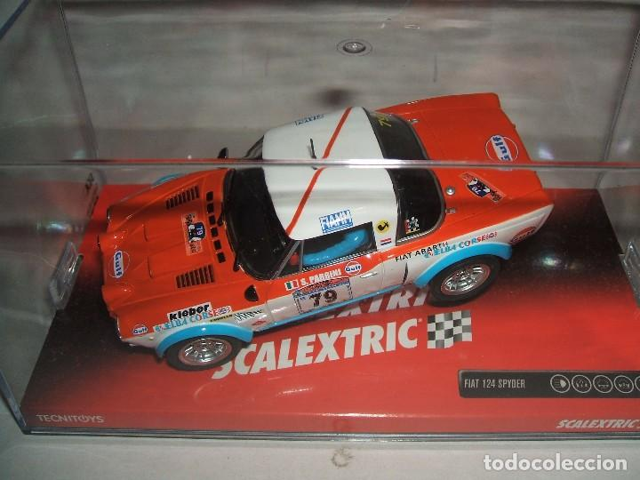SCALEXTRIC FIAT 124 SPYDER REF.-6377 (Juguetes - Slot Cars - Scalextric Tecnitoys)