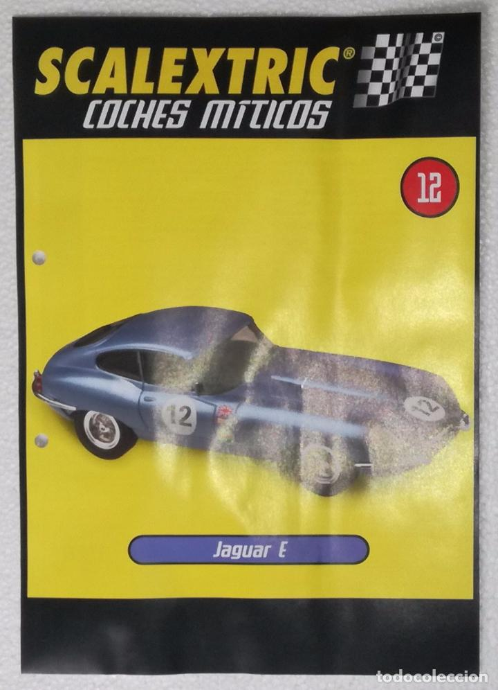 SCALEXTRIC COCHES MITICOS, ALTAYA: FASCICULO Nº 12 (Juguetes - Slot Cars - Scalextric Tecnitoys)