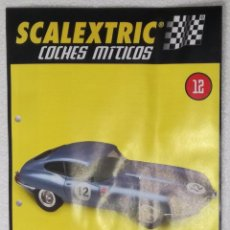 Scalextric: SCALEXTRIC COCHES MITICOS, ALTAYA: FASCICULO Nº 12. Lote 102989503